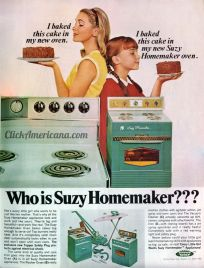 Suzy Homemaker Ad, 1966, Topper Toys